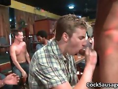 Large group of sensual dudes go wild film 2