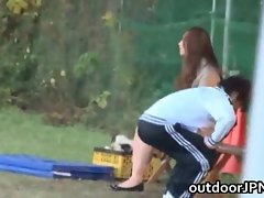 Ai sayama jap young woman has outdoor sex clip 2