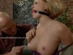 Chesty dirty wife refuses husband to fuck and caught with lover is punished in tremendous spanking sex
