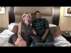 Solid Cheating wife gets filled w Ebony Prick in Interracial Video
