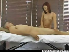 Bare massage amateur