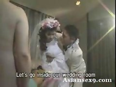 Asian Seductive japanese Wedding