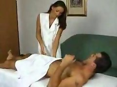 Massage with fuck