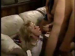 Ditzy blondie double dicked amateur