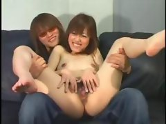 shaggy asian creampie