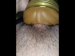Unloading all my hot cum in my fleshlight