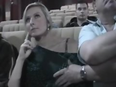 wife groped in the cinema