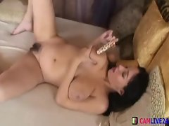 Hairy Pussy Girl With Huge Dildo On Cam From camlive24.tk