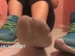 Marcela Stinky Feet and Socks After Gym
