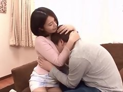 Japanese forbidden sex with step mom
