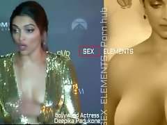 Deepika Padukone nude boobs showcase Naked jugs melons romp