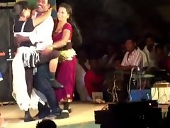 TAMILNADU Dolls Luscious STAGE RECORT DANCE Sensual indian barely legal NIGHT SONGS' DA