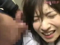 Ann Nanba gets spat on and pissed in face