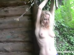 Lezzy Duo Lovemaking Escapade Outdoors