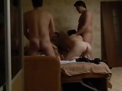 Sensual russian HOME VIDEO. Group BANG