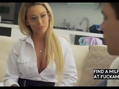 Cougar Isabelle Deltore helps the student sheвАЩs tutoring by unclothing down