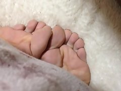 Seductive japanese luscious foot