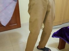 Hidden Camera Films Unzipping Of Pants