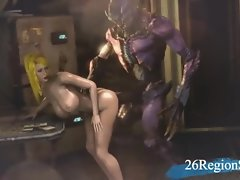 Samus - Slut of Demon