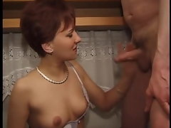 red-haired mummy fuck-fest